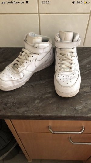 Nike High top sneaker wit