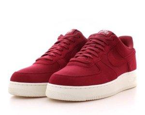 Nike Sneaker stringata rosso scuro