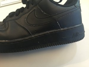 NIKE Air Force One BLACK (max 7 Mal getragen - fast wie neu)