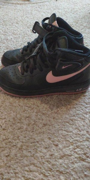 Nike Air force one black/pink
