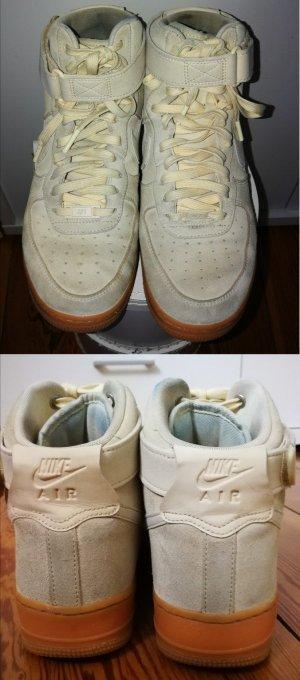 Nike Sneaker stringata beige