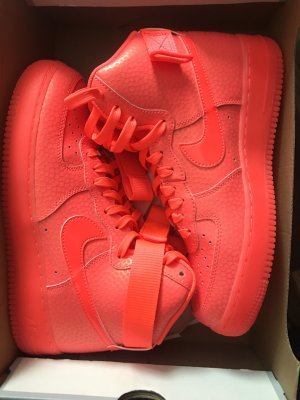 Nike Air Force One Sneaker Hot Lava