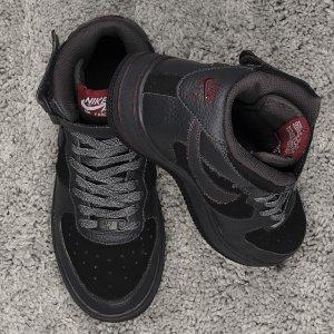 Nike Air Force One Sportschuhe Grau Gr 37,5