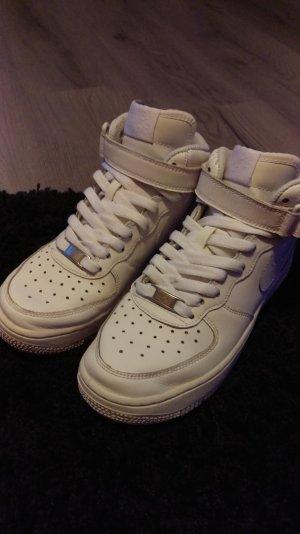 Nike Klittenband Sportschoenen wit