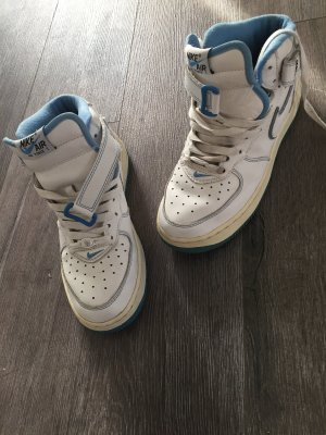 Nike air Force one weiß blau 38,5
