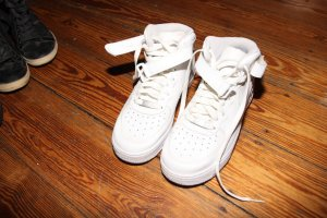 Nike Sneakers white leather