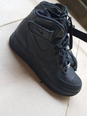 Nike Air Force schwarz
