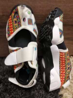 Nike Zapatillas con velcro multicolor