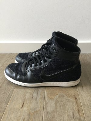 Nike Air High Top Schwarz Mesh