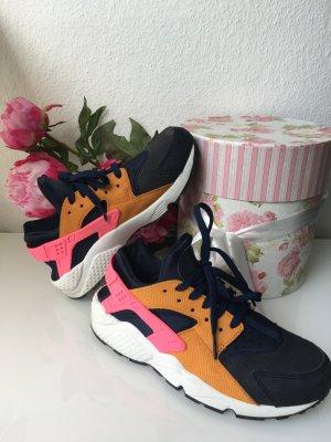 Nike Air Huarache blau/pink Gr.40