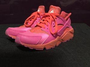 Nike air huarache ID pink orange Gr. 39