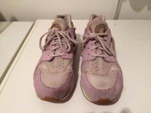 Nike air Huarache rosa Wildleder Textil EUR 42, fällt kleiner aus NP 135