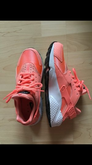 Nike Air Huarache Run Prm Atomic Pink Koralle Orange Neon Pastell Blogger Trend