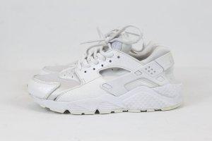 Nike Air Huarache Run Sneaker Turnschuhe Schnürer Gr. 36,5 weiß