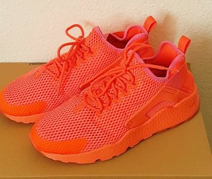 Nike Air Huarache Run Ultra Breathe Neon Orange Gr 41