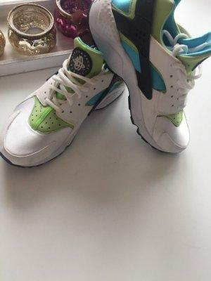 Nike air huarche in weis Türkis