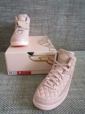 Nike Air Jordan 2 Just Don C Peach Pink Gr. 38,5 US 6