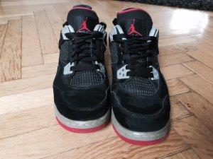 Nike Air Jordan 4 GS Retro Black and Red