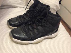 Nike Lace-Up Sneaker white-black mixture fibre