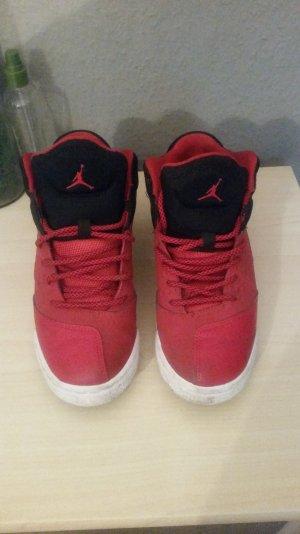 Nike Sandale d'extérieur noir-rouge