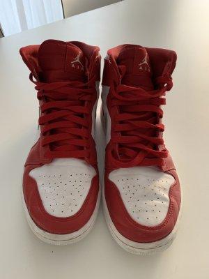 Nike Air Jordan weiß/rot Gr. 42,5