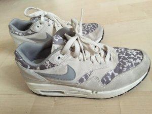 Nike air Max 1 Liberty Blumenmuster weiß grau