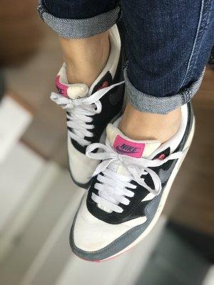 Nike Air Max 1 weiß pink grau Gr 37,5