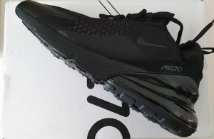 Nike Air Max 270 Triple Black Größe 42