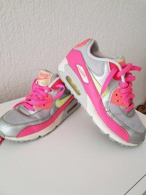 Nike Zapatillas color plata-rosa