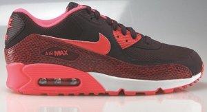Nike Air Max 90 dunkel rot