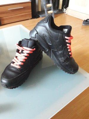 Nike air max 90 in Schwarz echt Leder