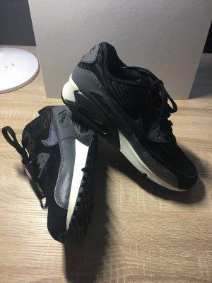 Nike Air Max 90 Leather black/metallic hematite/dark grey/sail
