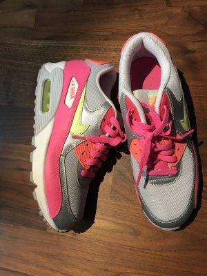 Nike Air Max 90 Mash Neon Gr. 38,5 wie Neu!