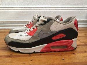 Nike Air Max 90 OG koralle weiß grau 38 Sneaker