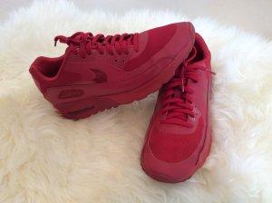 Nike Air Max 90 Premium Rot Größe 41 Unisex