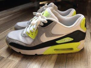 Nike Air Max 90 Sneaker weiß neon gelb