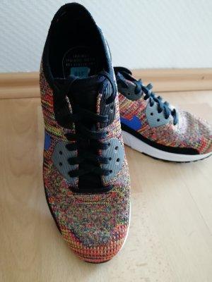 Nike Basket à lacet multicolore tissu mixte