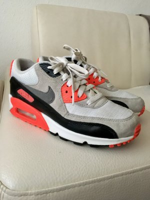 *Nike Air Max 90 Ultra essential* #white / cool grey- infrared- Black