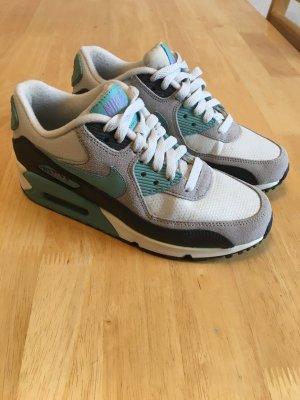 Nike Air Max 90 weiß/grau/türkis