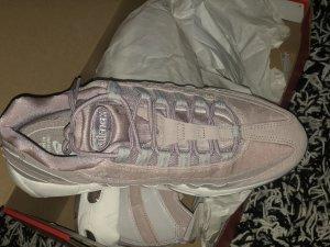 Nike Basket montante or rose-blanc