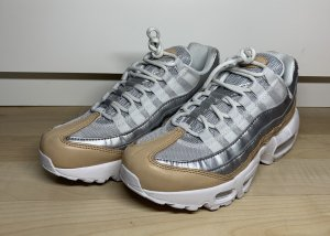 Nike Air Max 95 Premium Silver Brown Gr.36 NEU!
