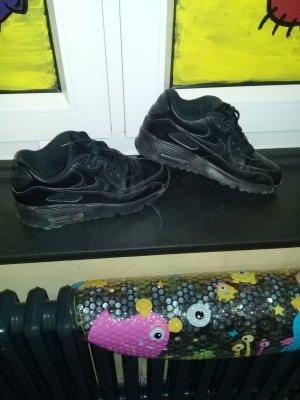 Nike Zapatilla brogue negro Cuero