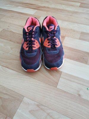 Nike Sneaker stringata rosso-rosso neon