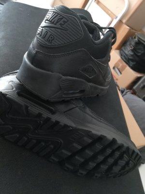 Nike Heel Sneakers black mixture fibre