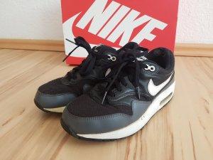 Nike Basket montante noir-gris foncé