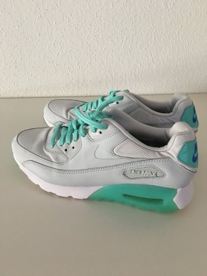 nike air max in grau/türkis