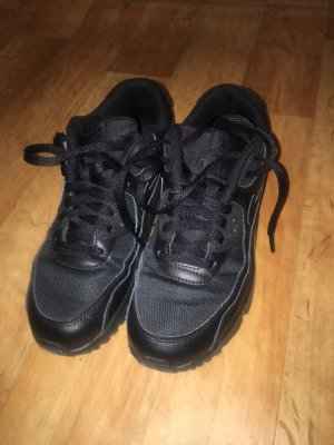 Nike air max in schwarz