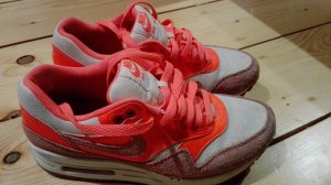 Nike Air Max korallfarben
