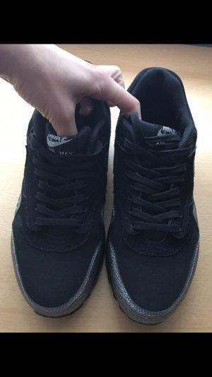 Nike Basket noir-argenté