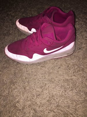 Nike Basket à lacet blanc-rose